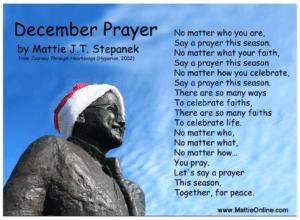 Matte Park December Prayer