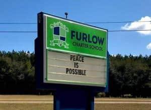 Furlow Charter School Sign