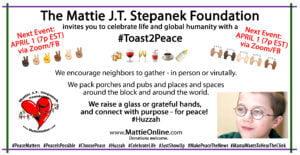 #Toast2Peace