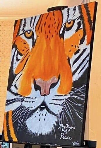 Yasmin's Tiger of Peace