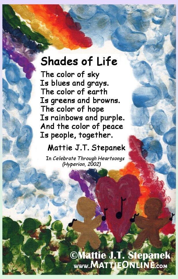Shades of Life poem
